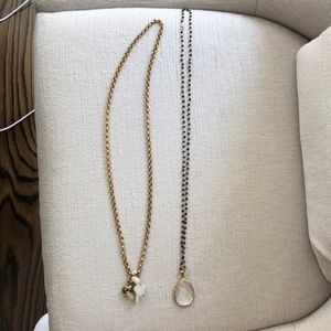 Excellent condition two boutique necklaces